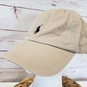 Polo ralph lauren khaki ball baseball cap hat